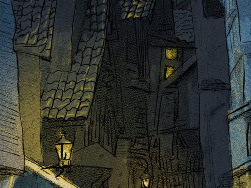Borgo notturno